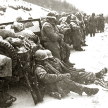 US Marines at the Chosin Reservoir